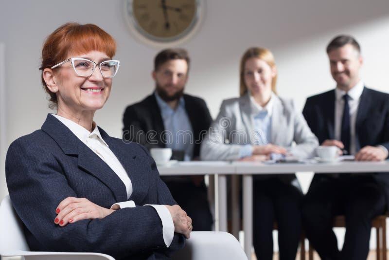 Varför önskar du att arbeta i vår korporation? royaltyfria foton