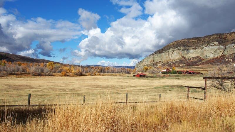 Vargberg Colorado, härligt Midwest landskap royaltyfri foto