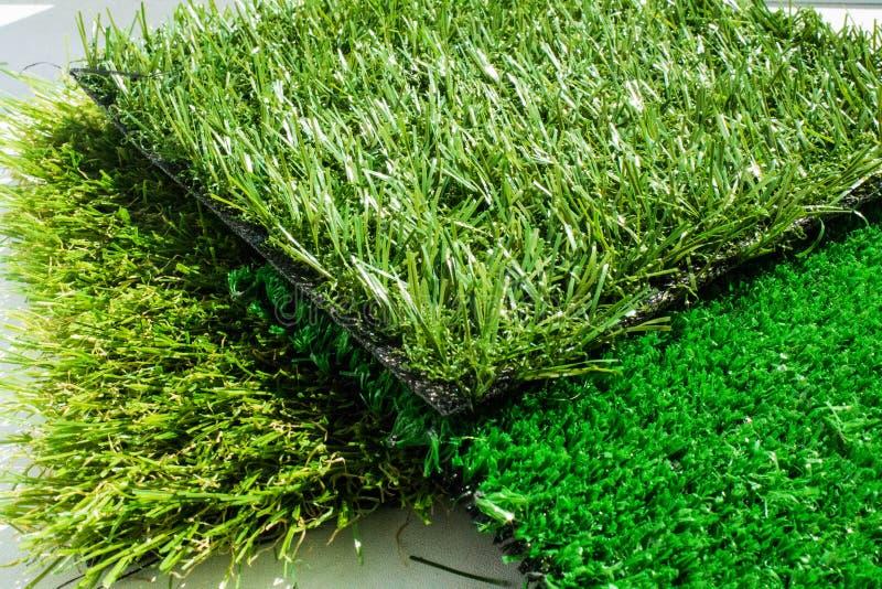Variété d'herbe artificielle ou de ses types images libres de droits