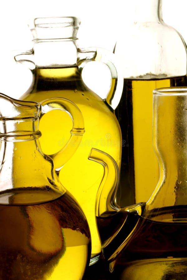 Variété d'huile d'olive images libres de droits