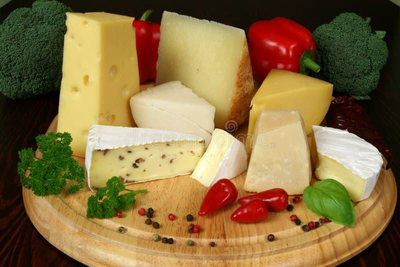 Variété de fromage photo libre de droits
