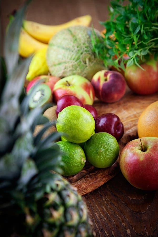 Variété de fruits photographie stock libre de droits