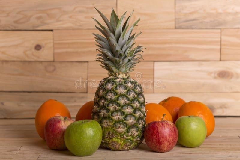Variété de fruits image libre de droits