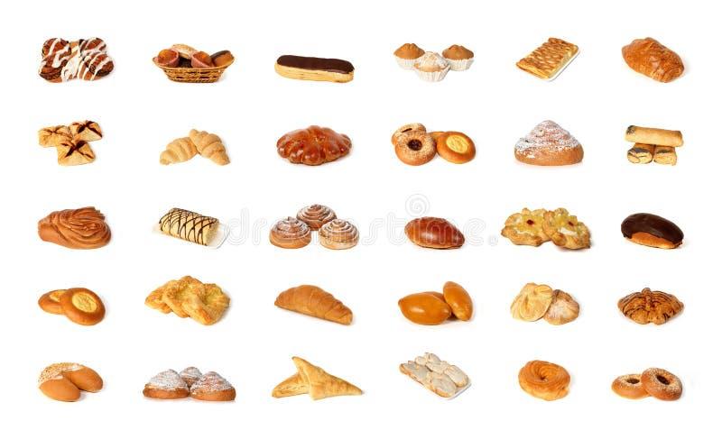 Variété de pâtisserie photos libres de droits