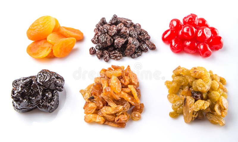 Variété II de fruits secs images stock