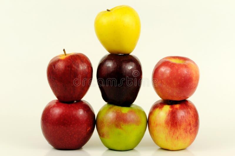 variétés de pomme images libres de droits