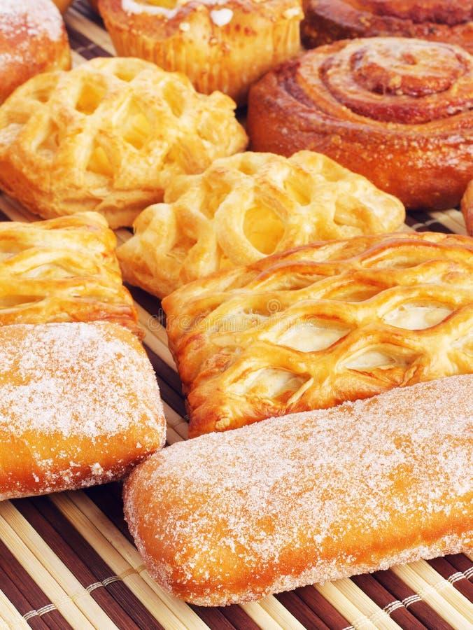 Vari panini dolci fotografie stock libere da diritti