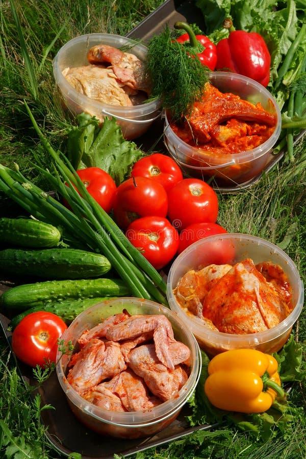 Varia verdura fresca fotografia stock