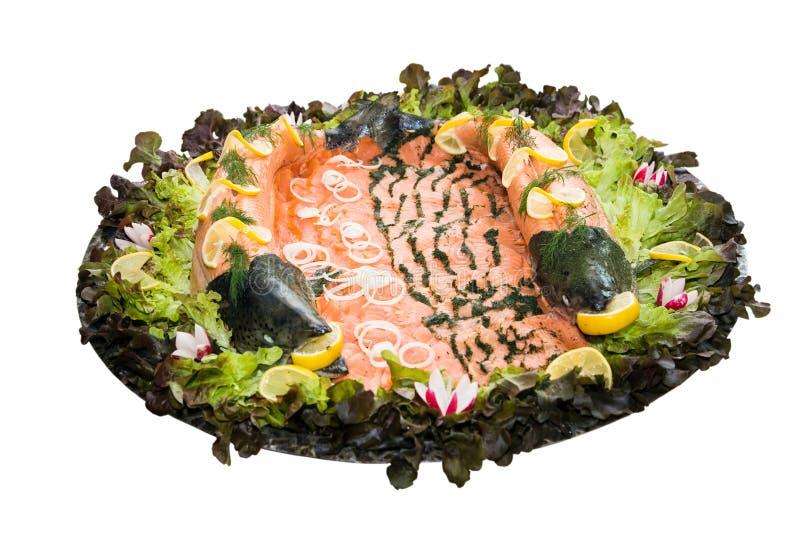 Variaciones de salmones imágenes de archivo libres de regalías