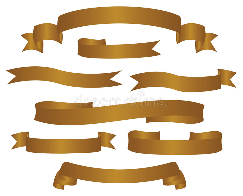 Varianten der Fahnen vektor abbildung