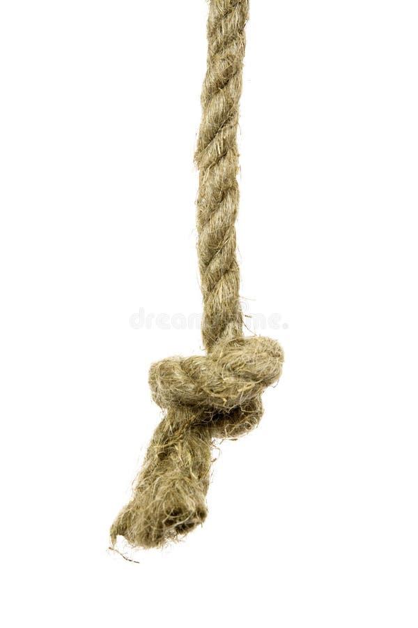 Varianten des Seils mit Knotenpunkt lizenzfreies stockfoto