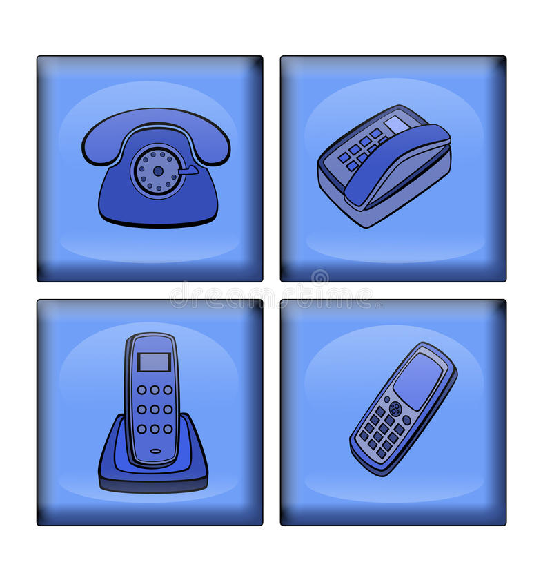 Download Variants  Of  Telephone Stock Images - Image: 12410074