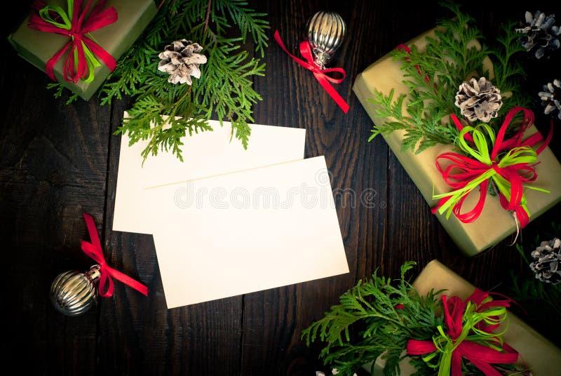 Varias cajas de regalos imagenes de archivo