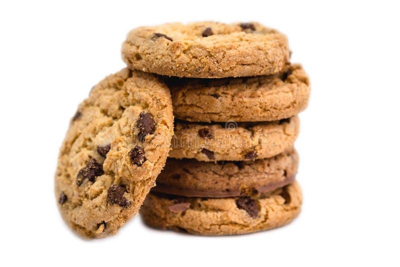 Varias galletas apiladas, galletas fotos de archivo libres de regalías