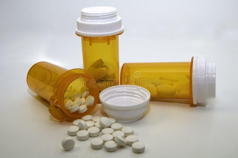 Varias medicaciones de Presciption foto de archivo libre de regalías