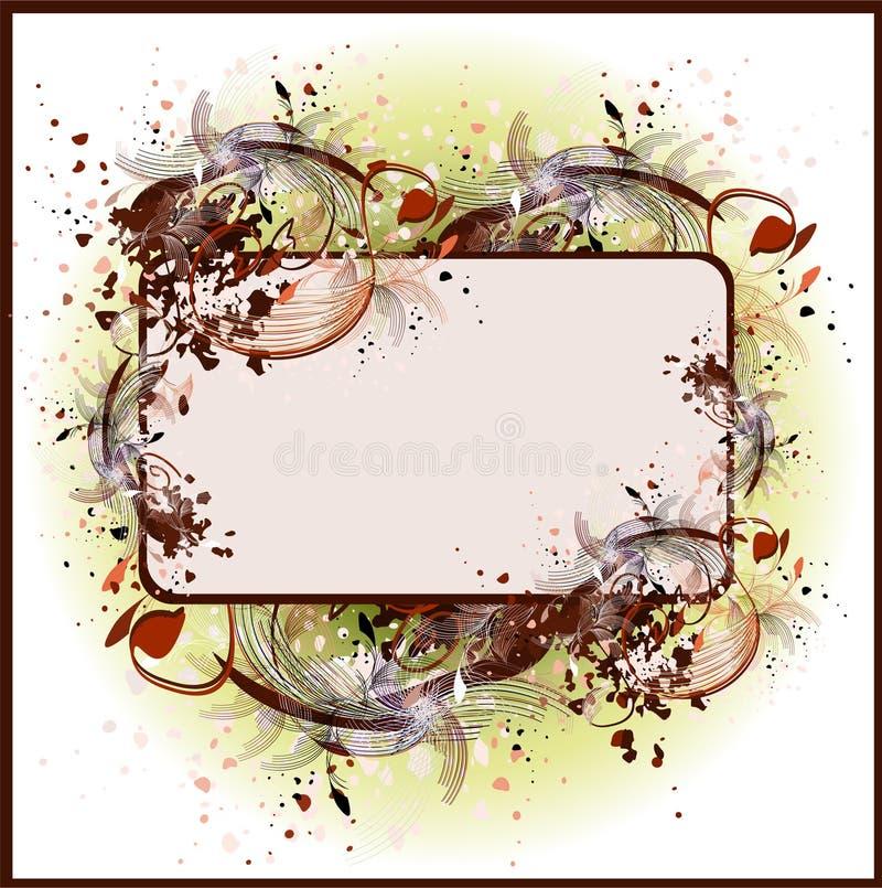 Varicolored frame stock photo