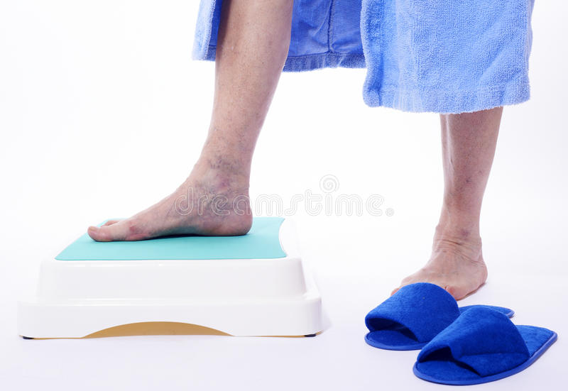 Download Varicose Veins On White Background Stock Photo - Image of backwards, foot: 20132594