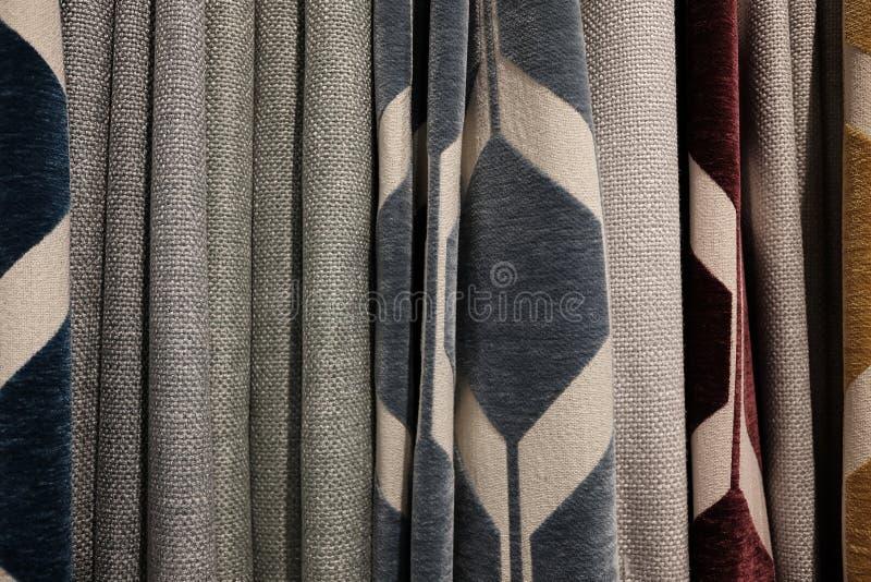 Variedad de cortinas foto de archivo libre de regalías