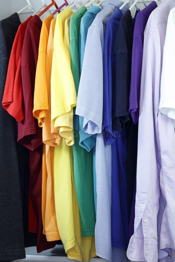 Variedad de la camisa fotografía de archivo