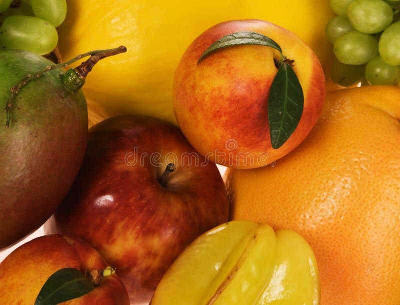 Variedade de frutas exóticas fotos de stock royalty free