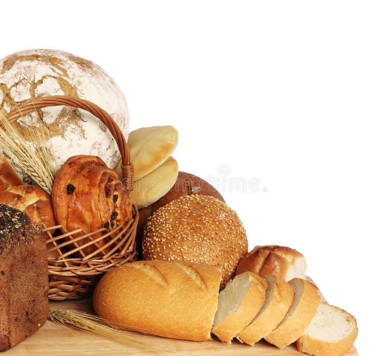 Variedade de pão imagem de stock
