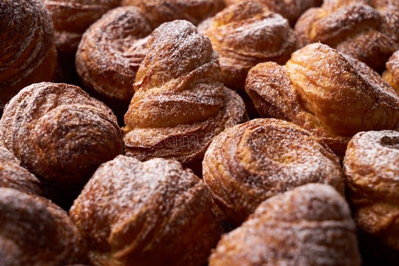 Variedade de pastelarias francesas fotos de stock royalty free