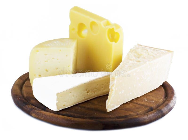 Variedade de queijo foto de stock royalty free