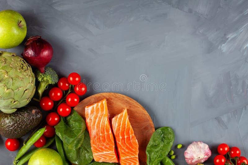Variedade de ricos saudáveis do alimento biológico na fibra, proteína, antioxidantes foto de stock