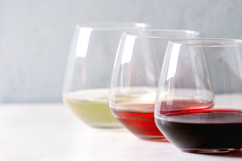Variedade de vinho imagem de stock