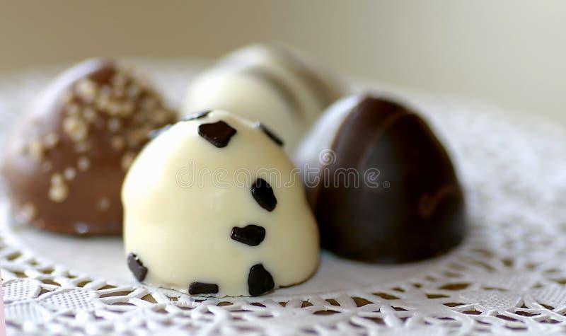 Variedade do chocolate fotografia de stock