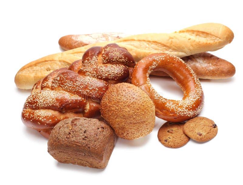 Download Variedade do pão cozido foto de stock. Imagem de placa - 16856204