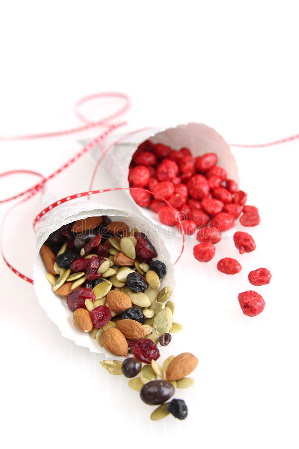 Variedade Nuts imagens de stock