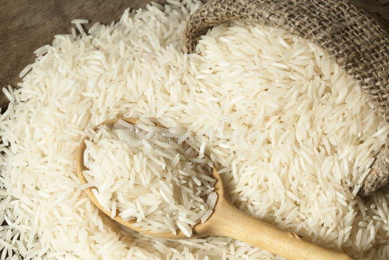 Variedades do arroz Basmati fotos de stock
