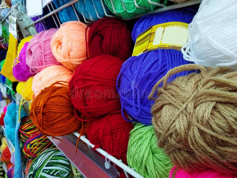 Variegated, Bright And Colorful Yarns For Knitting On Shop