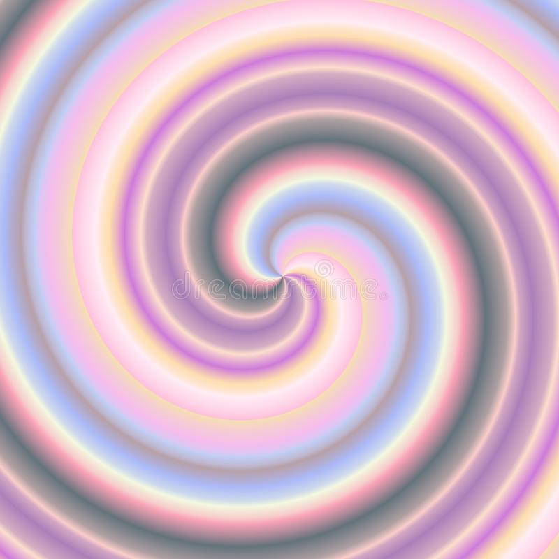 Variegated spiral royalty free stock photography