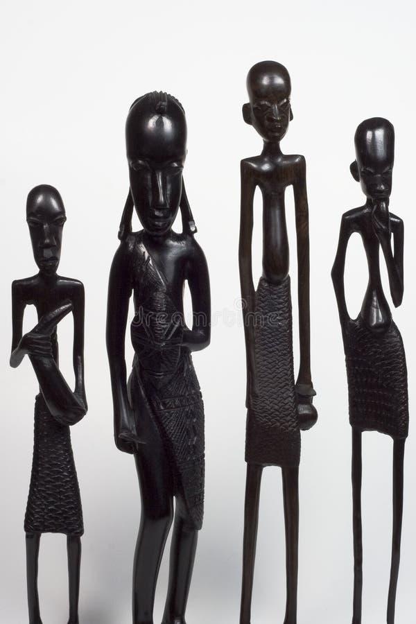 Varietà africana degli uomini fotografie stock libere da diritti