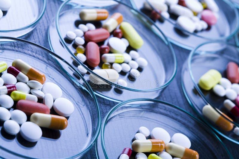 Varietà delle pillole immagine stock libera da diritti