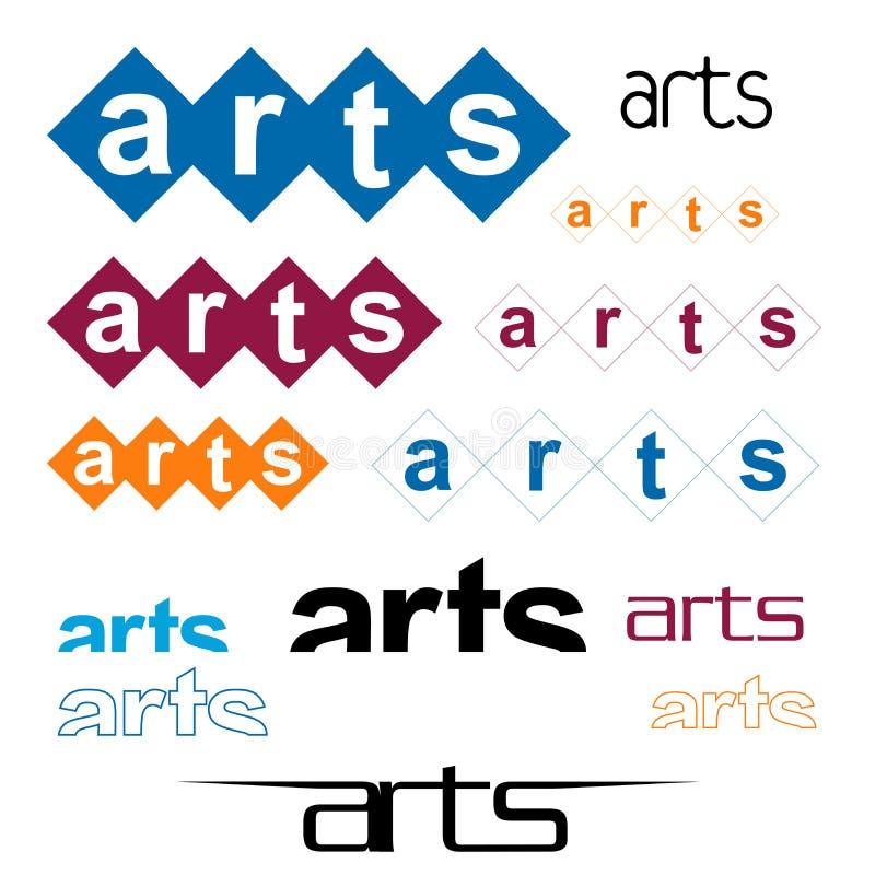 Varietà di arti royalty illustrazione gratis