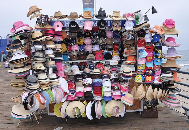 Varietà di cappelli fotografia stock libera da diritti