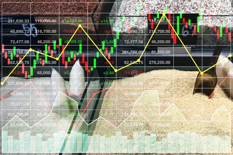 Varietà di indice della concorrenza di vendita di finanza delle azione di affari di ri illustrazione vettoriale