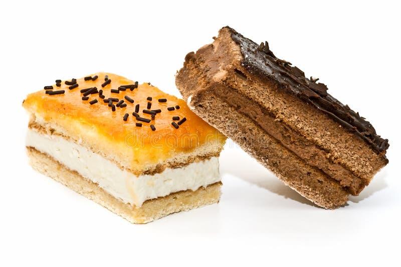 Varietà di qualità di torte fotografia stock