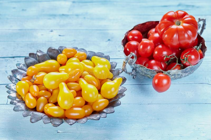 Varieties Of Tomatoes royalty free stock images