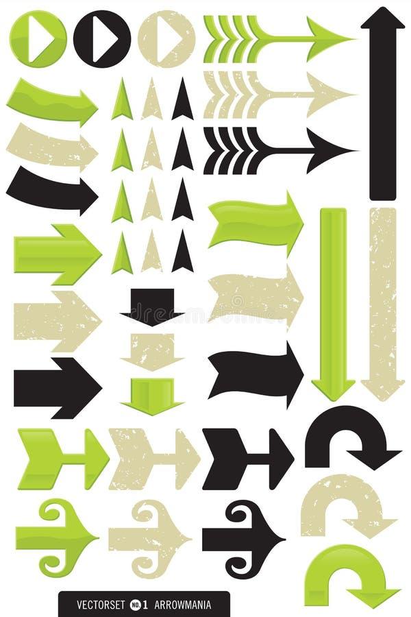 Variety of Arrow Designs