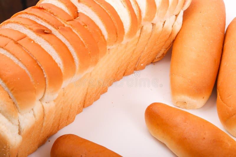 Fino Bread. Variety of bakery . Fino and toast royalty free stock photography