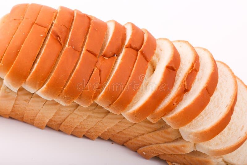 Fresh Toast. Variety of bakery on white background stock images