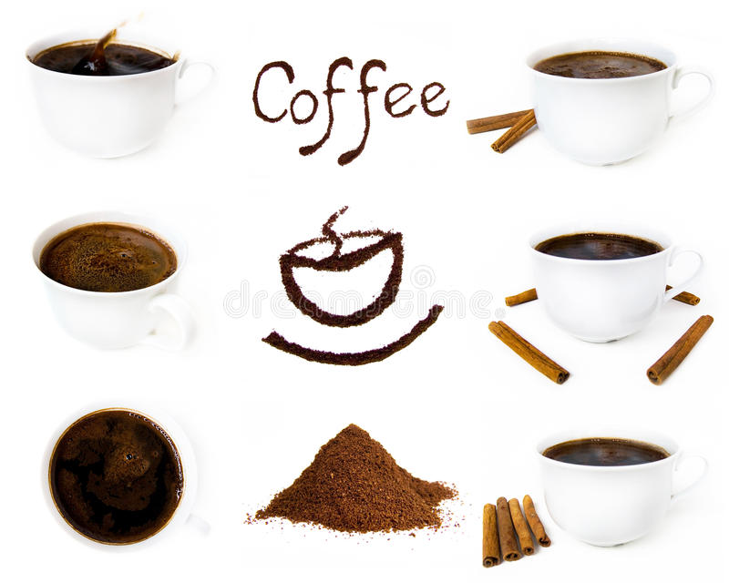 Download Variety Of Coffee Component Stock Illustration - Image: 11954787