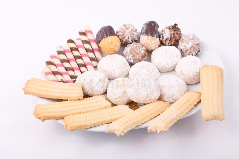 Variety of Desserts stock image