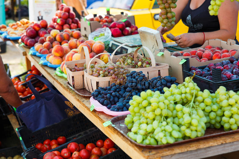 Variety of fruits royalty free stock photography