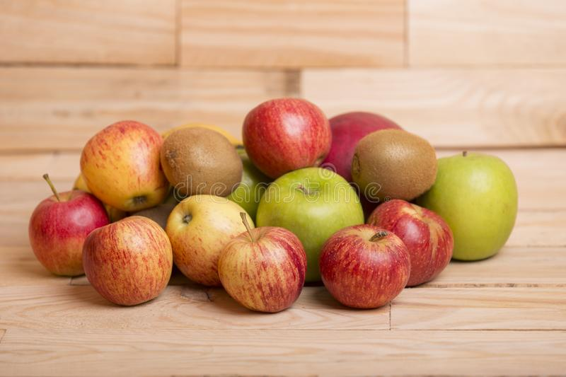 Variety of fruits stock image