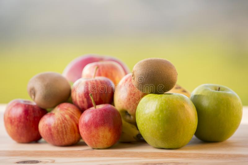 Variety of fruits royalty free stock images